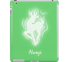 Harry Potter Patronus Valentines: Snape, Always iPad Case/Skin