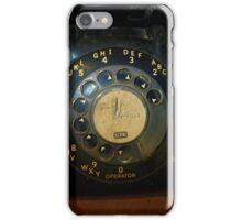 Party Line...When Ma Bell  Ruled iPhone Case/Skin