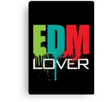 EDM Lover Canvas Print