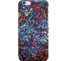 Blue Berries-Embossed-Available As Art Prints-Mugs,Cases,Duvets,T Shirts,Stickers,etc iPhone Case/Skin