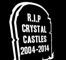 RIP CRYSTAL CASTLES by Kelsey Sneddon