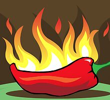 Flaming hot chilli by borstal