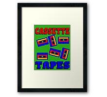 CASSETTE TAPE-2 Framed Print