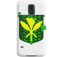 Hawaiian Tribal Coat Of Arms Samsung Galaxy Case/Skin