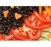 Beluga Salad Photographic Print