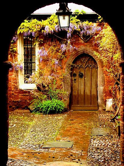 Mysterious Door by Charmiene Maxwell-Batten