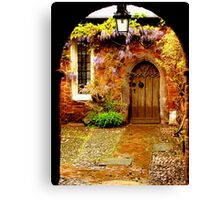 Mysterious Door Canvas Print
