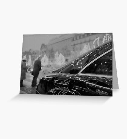 Paris France Champs Elysees Lomo LCA lomographic analog film photograph 35mm Greeting Card