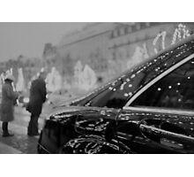 Paris France Champs Elysees Lomo LCA lomographic analog film photograph 35mm Photographic Print