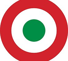 Roundel of the Italian Air Force, 1911-1946 by abbeyz71