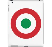 Roundel of the Italian Air Force, 1911-1946 iPad Case/Skin