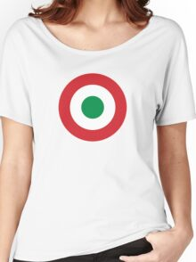 Roundel of the Italian Air Force, 1911-1946 Women's Relaxed Fit T-Shirt
