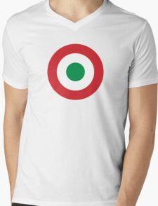 Roundel of the Italian Air Force, 1911-1946 Mens V-Neck T-Shirt