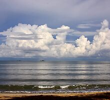 Gentle Waves  by David Clark