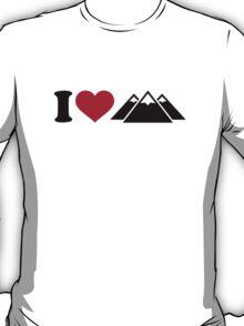 I love mountains T-Shirt