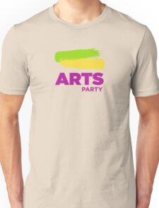 Official White - The Arts Party Unisex T-Shirt