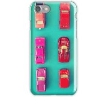 Retro Cars iPhone Case/Skin