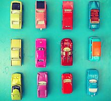Retro Cars by Odette Angelica