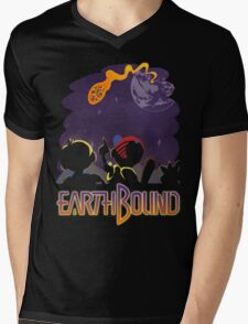 EARTHBOUND - First Steps Mens V-Neck T-Shirt