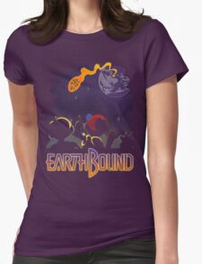EARTHBOUND - First Steps Womens Fitted T-Shirt