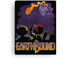EARTHBOUND - First Steps Canvas Print