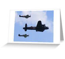 Battle of Britain Memorial flight 2 Greeting Card