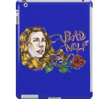 Bad Wolf - Sketch Style  iPad Case/Skin