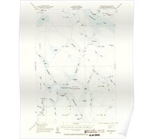 Maine USGS Historical Map Chesuncook 460318 1954 62500 Poster