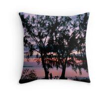 Grand Cayman Sunrise Throw Pillow