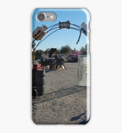 desert art projects iPhone Case/Skin