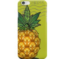 Pineapple Kush Marijauna Strain Art iPhone Case/Skin