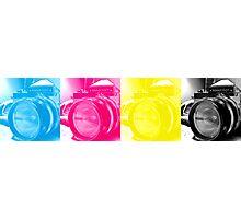 CMYK Camera Photographic Print