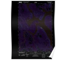 Maine USGS Historical Map Chesuncook 20110910 TM Inversion Poster