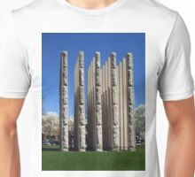 Memorial to Indiana Veterans Unisex T-Shirt