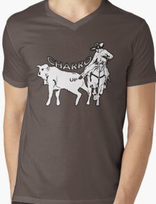 Charro Up! Mens V-Neck T-Shirt