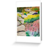 Path to Spring Greeting Card