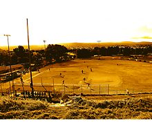 The baseball field Photographic Print