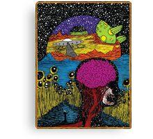Paradox Moon Canvas Print
