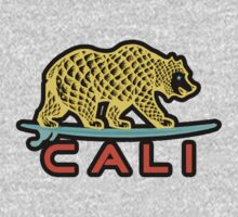Cali Bear (Yellow with Black Border) by Omar  Mejia