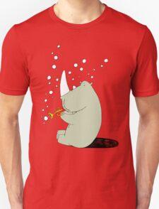 Rhino Blowing Bubbles T-Shirt