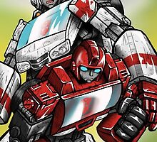 Ratchet and Ironhide by AutobotJazz
