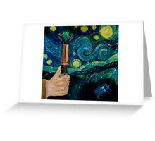 Wibbly Wobbly Night Greeting Card