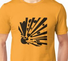 Danger - Explosive! Warning Sign Unisex T-Shirt