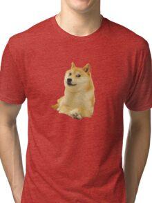 Doge shibe meme classic Tri-blend T-Shirt