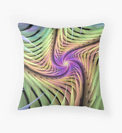 Edged Spiral Throw Pillow