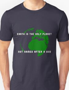 How many gods are there, anyway? T-Shirt
