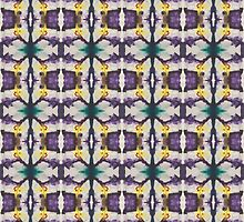 abstract teal and purple by purplestgirl