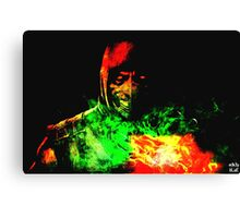 Immortal Kombat Canvas Print