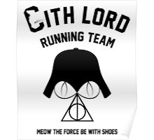 Sith lord running team Poster