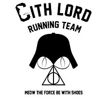 Sith lord running team Photographic Print